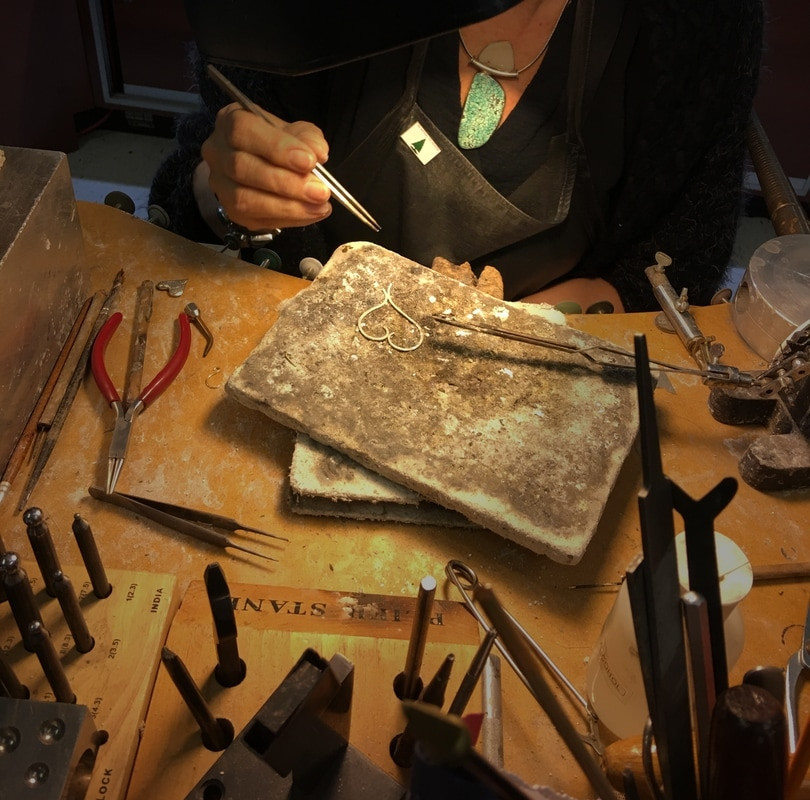 silversmith at work | FSG Fine Jewelry | Salado, TX