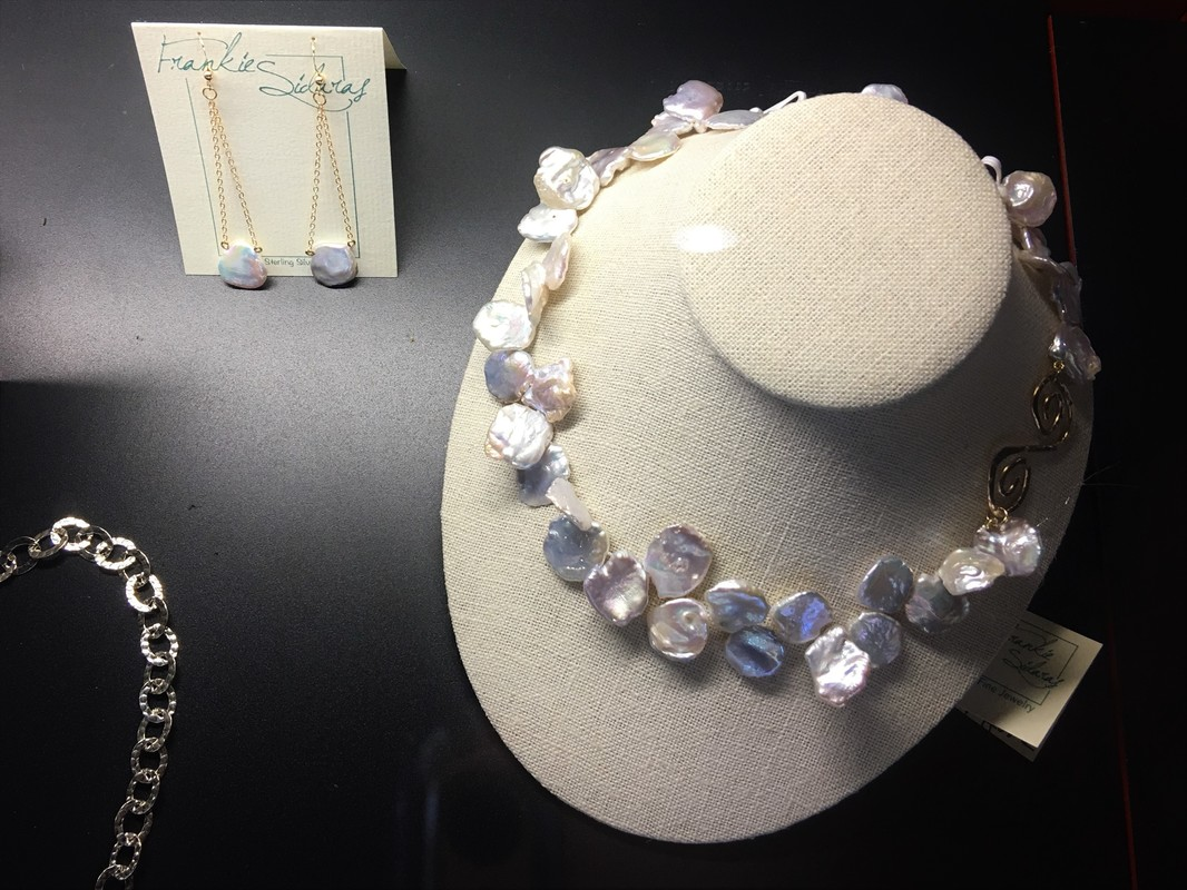 hand-knotted fresh water pearls | FSG Fine Jewelry | Salado, TX